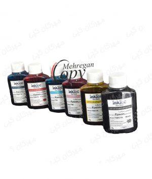 جوهر شش رنگ اپسون Epson InkTec 100CC