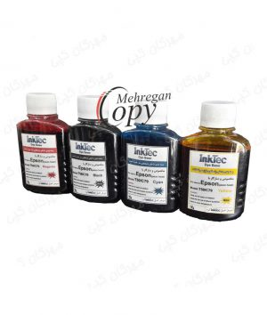 جوهر چهار رنگ اپسون Epson InkTec 100CC